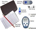 Monitoring blood glucose - series - Using a self-test meter